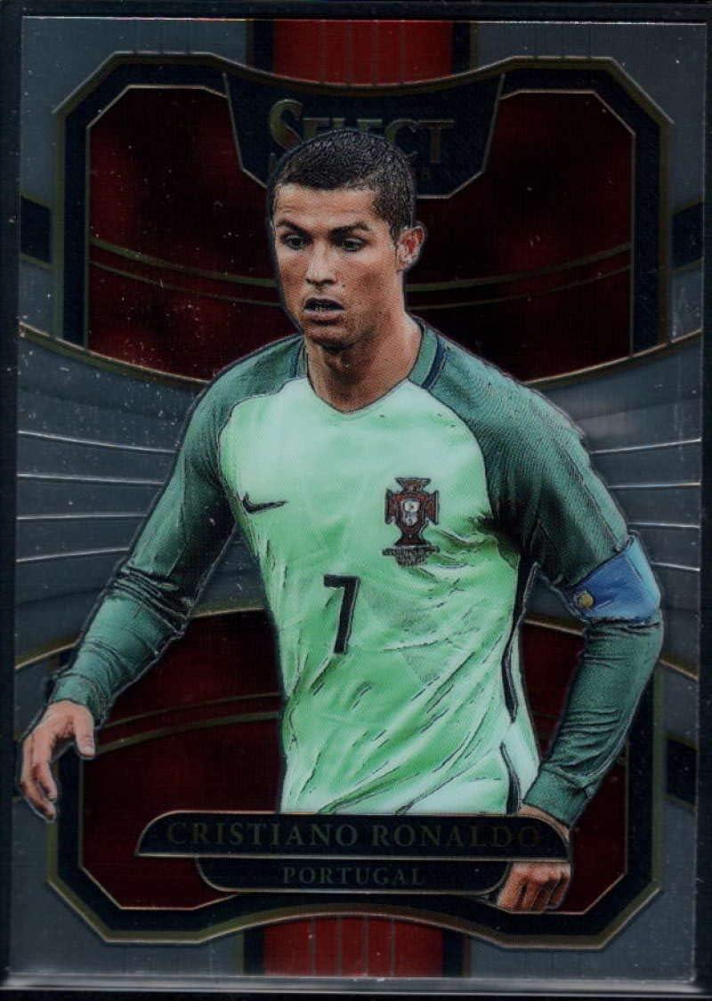 Cristiano ronaldo-Panini Select Soccer 2017-18 Portugal base