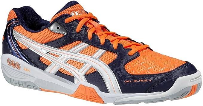 ASICS scarpe UOMO Gel Blade 4 NeonOrange/White/Navy R305N AI16