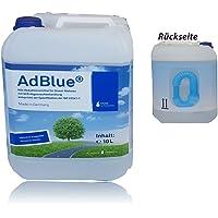 AdBlue Solución de urea para SCR tratamiento de gases de escape 10 Litros con tubo de alimentación