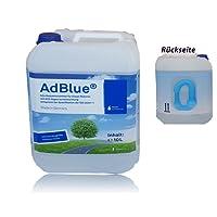 AdBlue hochreine Harnstofflösung für SCR Abgasnachbehandlung 10 Liter (mit Abfall Schlauch)