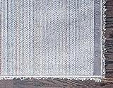 Unique Loom Solo Solid Shag Collection Modern Plush