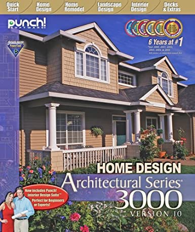 Amazon.com: Punch! Home Design Architect Series 3000 v10 - Old Version