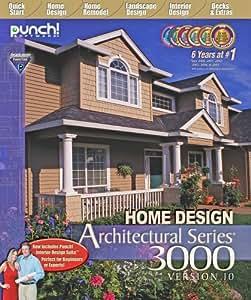 amazoncom punch home design architect series 3000 v10