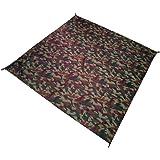 super-bab 150x 150cm Alfombra de manta de bolsillo compacto para exteriores jardín Camping impermeable playa alfombrillas, camouflage