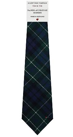 I Luv LTD Corbata de Lana para Hombre Tejida y Hecha en Escocia en ...