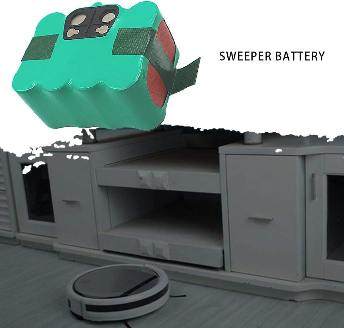 Limpiador robot de aspiradora Ni-mh de batería recargable de 14.4 v para KV8 XR210-Green 2500mAh: Amazon.es: Hogar