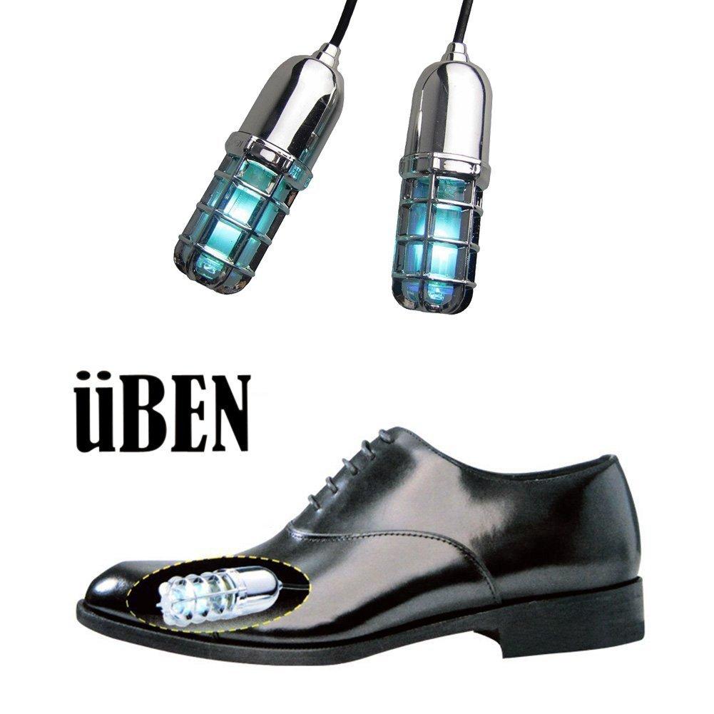 UV Shoe Sanitizer Sterilizer – 99.9% Sterilization through Ultraviolet Light and Ozone Sterilization – Innovative Shoe Disinfectant for Improved Foot Hygiene by ÜBEN