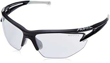 Alpina Eye-5 HR VL+ Brille black matt-white VARIOFLEX black HiXCUpw