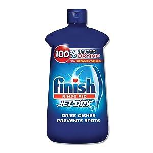 FINISH Jet-Dry Rinse Agent, 8.45oz Bottle