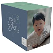 Earth + Eden Baby Diapers, Size 1, 176 Count