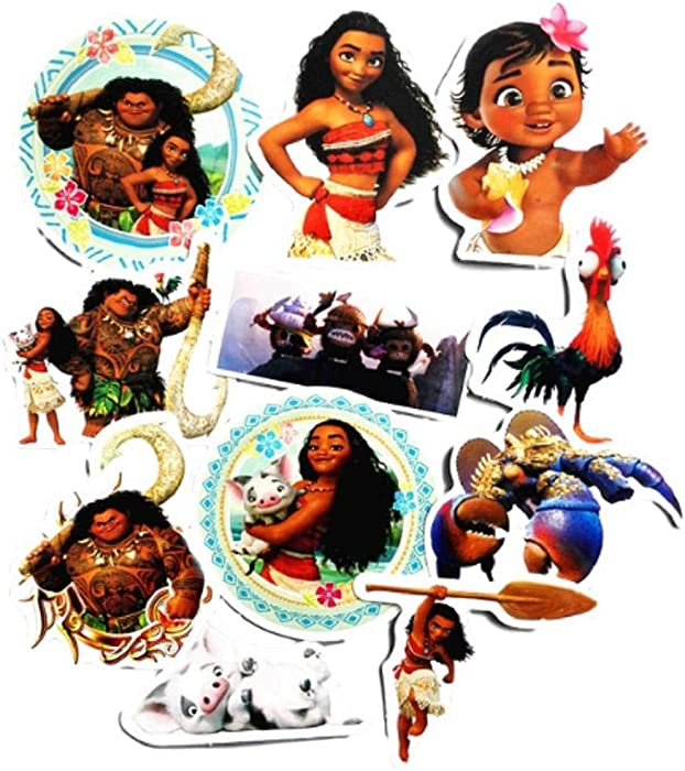 The Best Moana Laptop Stickers