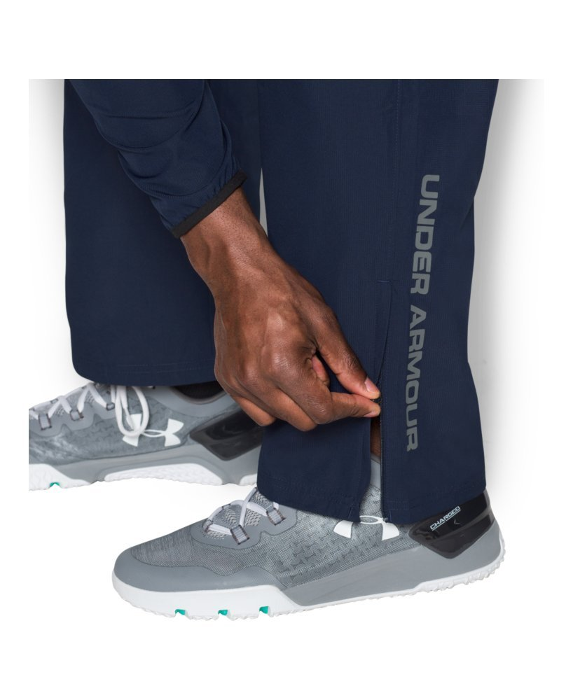 Under Armour Men's Vital Warm-Up Pants, Midnight Navy/Graphite, Medium by Under Armour (Image #3)