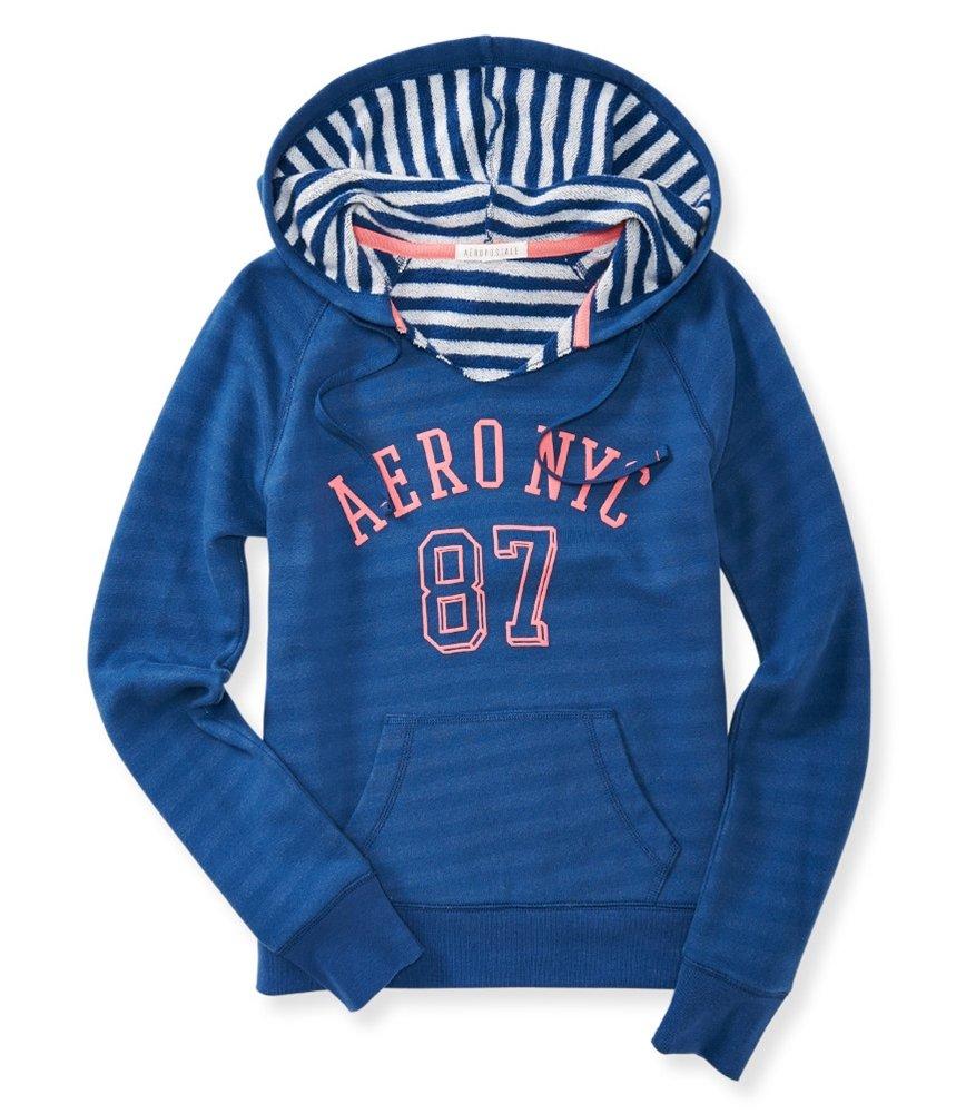 Aeropostale Womens Hooded Fleece Sweatshirt 402 XS by Aeropostale