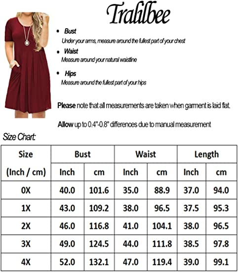 Women's Plus Size Short Sleeve Dress