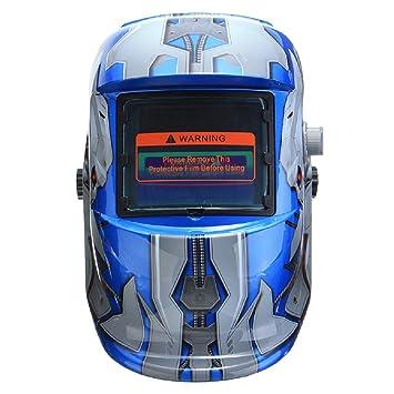 SunniMix Soldador Solar Oscurecimiento Auto Que Suelda Con Autógena La Máscara Protectora Del Soldador Del Del Casco - # 7: Amazon.es: Bricolaje y ...