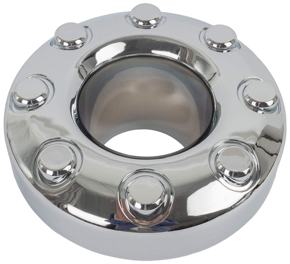 KARPAL 5C3Z1130TA Dually 4x4 Open Front Wheel Center Hub Cap Compatible With Ford F350 F-350 Pack of 2