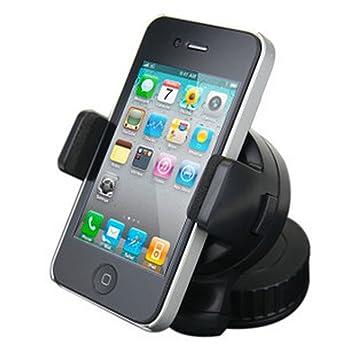 VENTOSA SUJECIÓN TELEFONOS MOVIL Y NAVEGADORES-- Desde 5 Cm hasta 8,2 cm -- SOPORTE ...