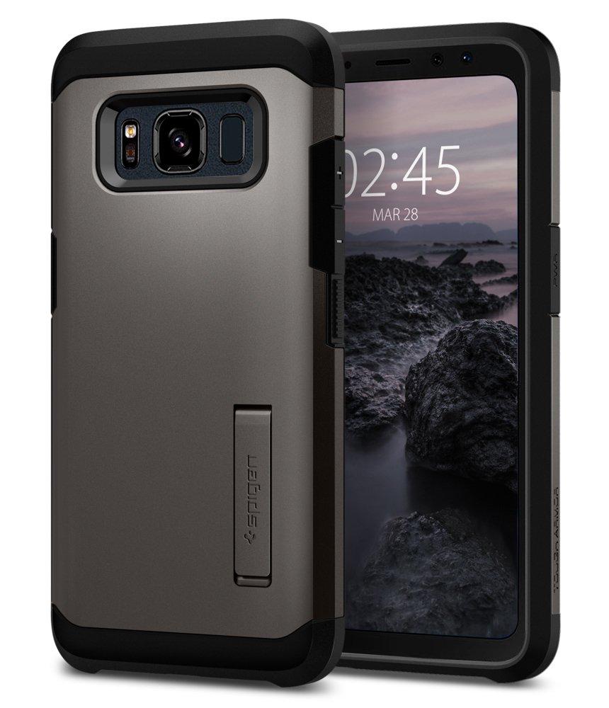 Spigen Tough Armor Designed for Samsung Galaxy S8 Active Case (2017) - Gunmetal