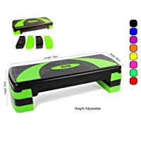 Xn8 Adjustable Stepper Step Block Cardiovascular Fitness Aerobic Exercise Gym Yoga