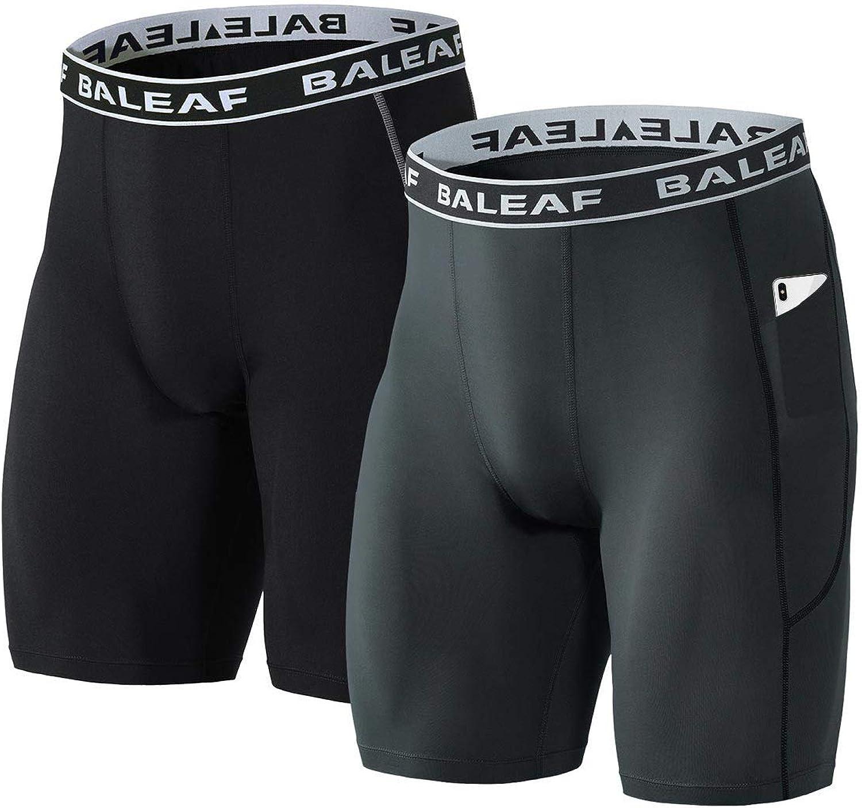 Baleaf Short dexercice 2 en 1 pour Homme avec Poches