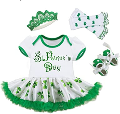 Irish Mermaid Saint Patricks Baby Boys Girls Jumpsuits Short Sleeve Romper Bodysuit Bodysuit Jumpsuit Outfits Pink