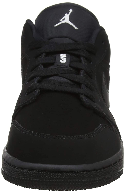 Jordan 554723-600 5 M US BIg Kid Kids Air Jordan 1 Low GS Pink//White//Black//Pink Sneaker