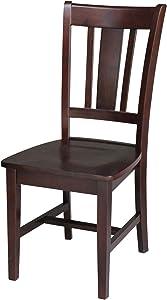 International Concepts San Remo Splat Back Chair, Java