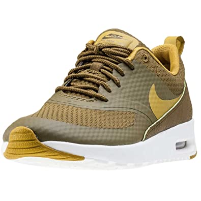 super popular 00c2f 94f6a Nike Womens Air Max Thea TXT Olive Synthetic Trainers 6 US
