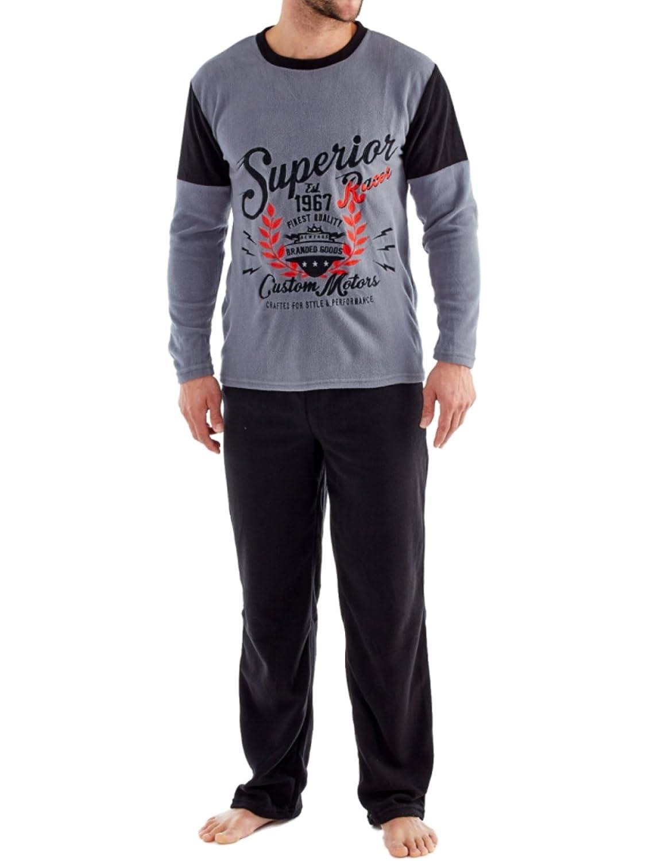 Pijama para hombres Harvey James de forro polar térmico: Amazon.es: Ropa y accesorios