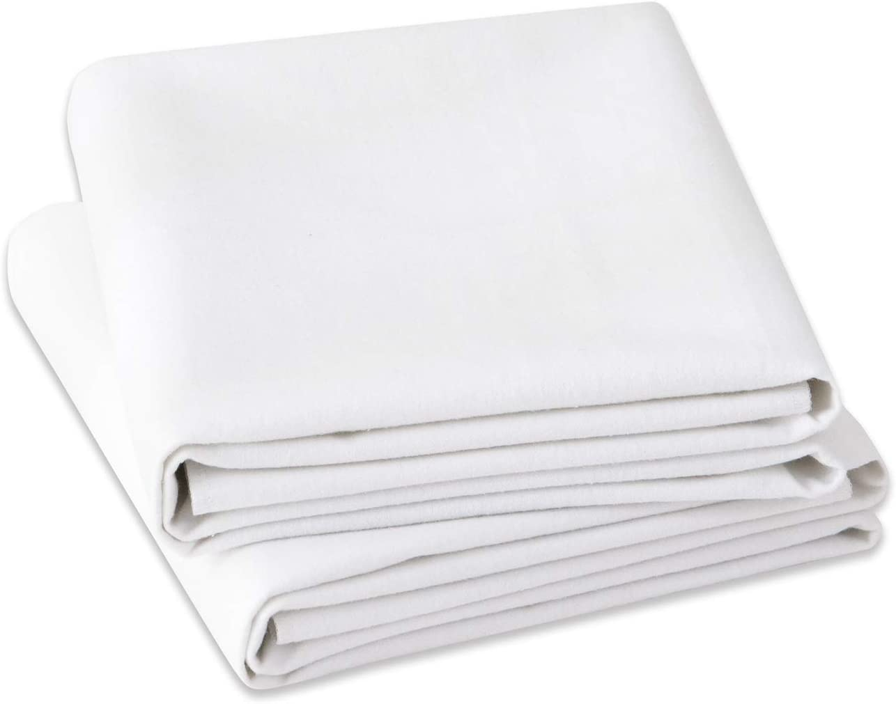 """Shunjie.Home Fitted Sheet Queen 2Pack, 400 TC 16"""" Deep Pocket Egyptian Cotton Fitted Sheet (2, Queen)"""