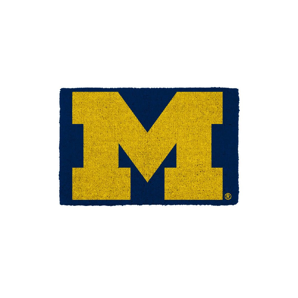 One Size Game Day Outfitters NCAA Michigan Wolverines University of Michigan Doormatuniversity of Michigan Doormat Varied