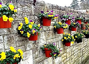 Pack Of 12 Plant Pot Holder Rings To Hang 6u0026quot; Plant Pots On Walls,