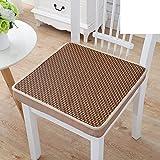hxxxy Tatami mats Cushion,Mat Plenty thick Square Cushions [summer]-A 40x40cm(16x16inch)