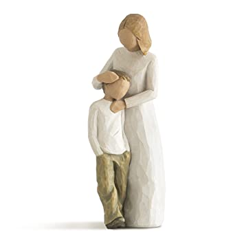 Willow Tree Mother and Son, sculpted hand-painted figure