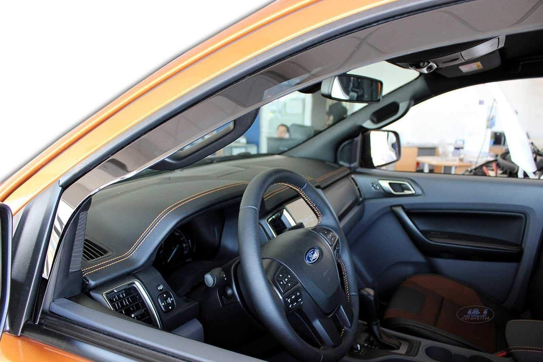 J/&J AUTOMOTIVE Deflecteurs dair D/éflecteurs de Vent Compatible avec Ranger III 4 Portes 2012-pr/és 4pcs