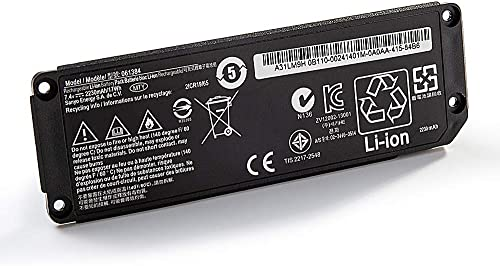 Amanda 061385 Battery 061384 061386 063404 063287 7.4V 2230MmAh 17Wh Replacement for Soundlink Mini one Bose SoundLink Mini Bluetooth Speaker one Bose SoundLink Mini Bluetooth Speaker I Bose Mini I