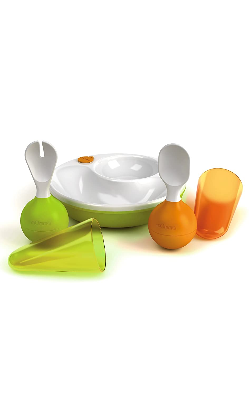 LANSINOH Lensemblerepas mOmma/® vaisselle b/éb/é vert//orange