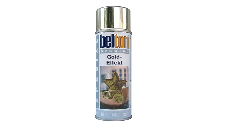 Belton bombe spécial peinture en spray effet doré 400 ml