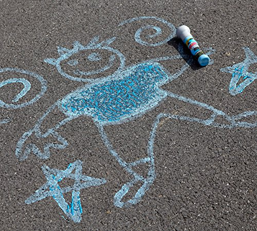 Crayola Neon Paint Markers, Outdoor Toy Sidewalk Paint, 4 Color Pack by Crayola (Image #4)