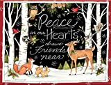 Lang Peace In Our Hearts Boxed Christmas Card by Susan Winget, 18 Cards & 19 Envelopes (1004777)