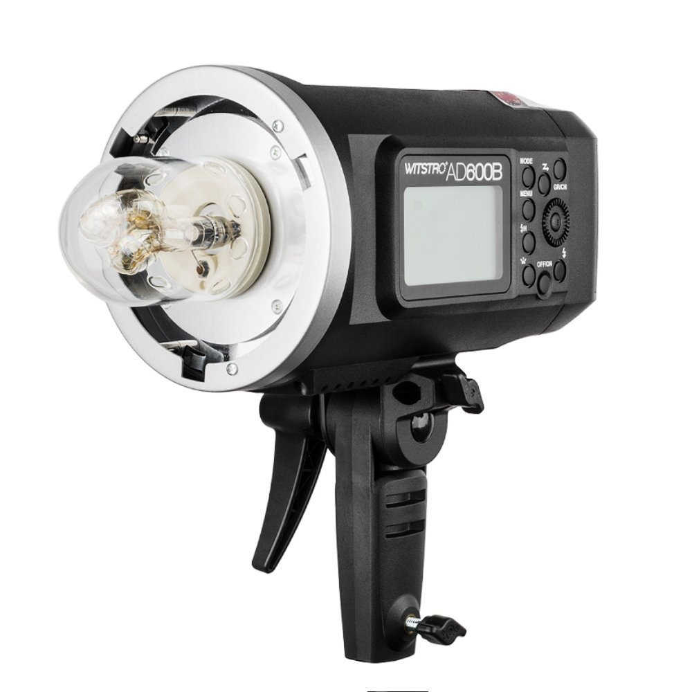 Godox Witstro AD600B Bowens Mount 600Ws TTL High Speed Sync Outdoor Flash Strobe Light with 8700mAh Battery Provide 500 Full Power Flashes Recycle in 0.01-2.5 Second by Godox (Image #1)
