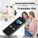 Traducteur Vocal Intelligent avec 44 Multi-langues, Beatie Android7.0 1200 Mah écran Tactile 2.4g wifi Traduction en Temps Réel Pour Étude, Voyage, et Réunion d'Affaires