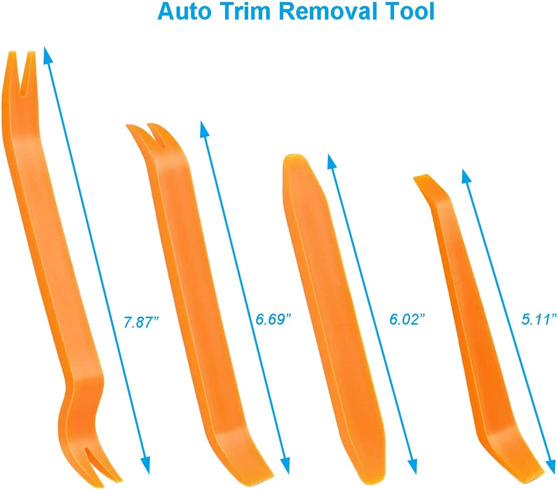 Plastic Pry Tool Kit for Car Body Radio Stereo Dash Door Auto Panel Removal Tool Car Interior Upholstery Repair Toolkit Kitbest 12 pcs Trim Removal Tool