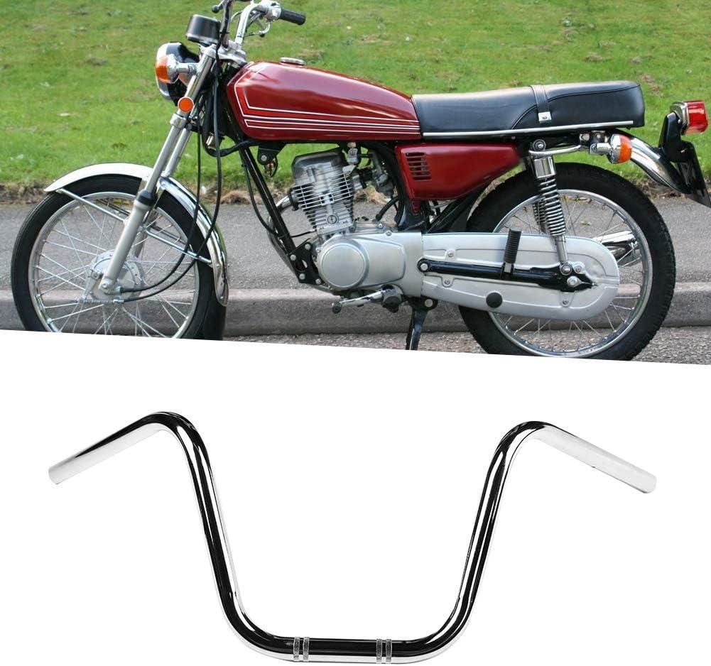 Nero Manubrio modificato per manubrio da moto in acciaio 25mm KIMISS