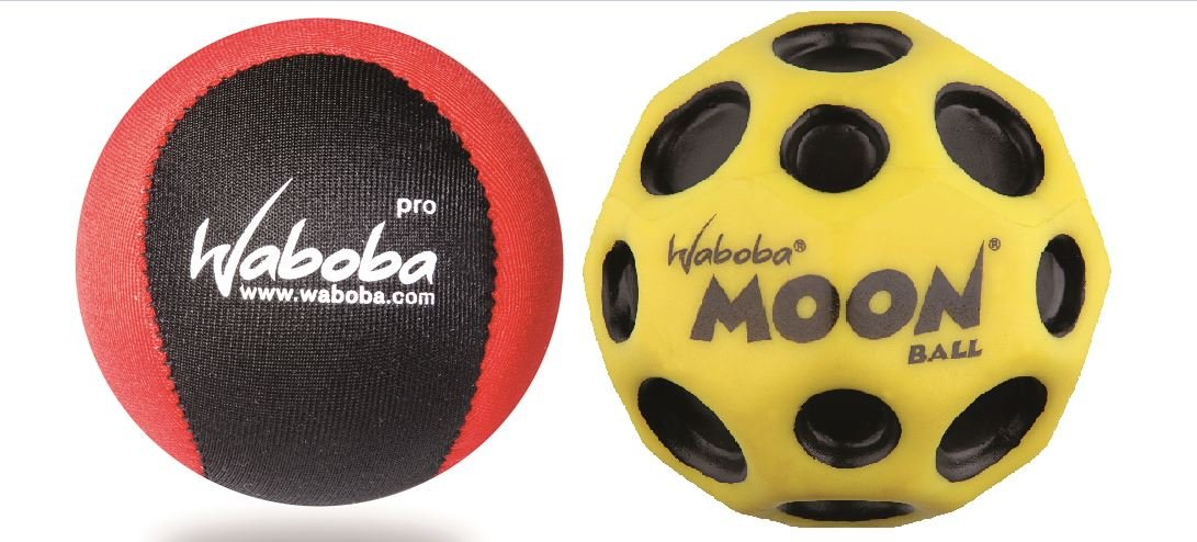Sunflex para baño y Beach pelota Waboba Moon & Pro Power Balls Set ...