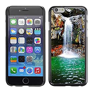 """Exotic-Star ( Waterfall Spring ) Fundas Cover Cubre Hard Case Cover para 4.7"""" iPhone 6"""