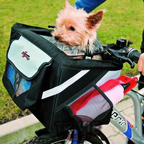 3 in1 Nkl. Soporte Bicicleta funda perro cesta de bicicleta Bolsa ...