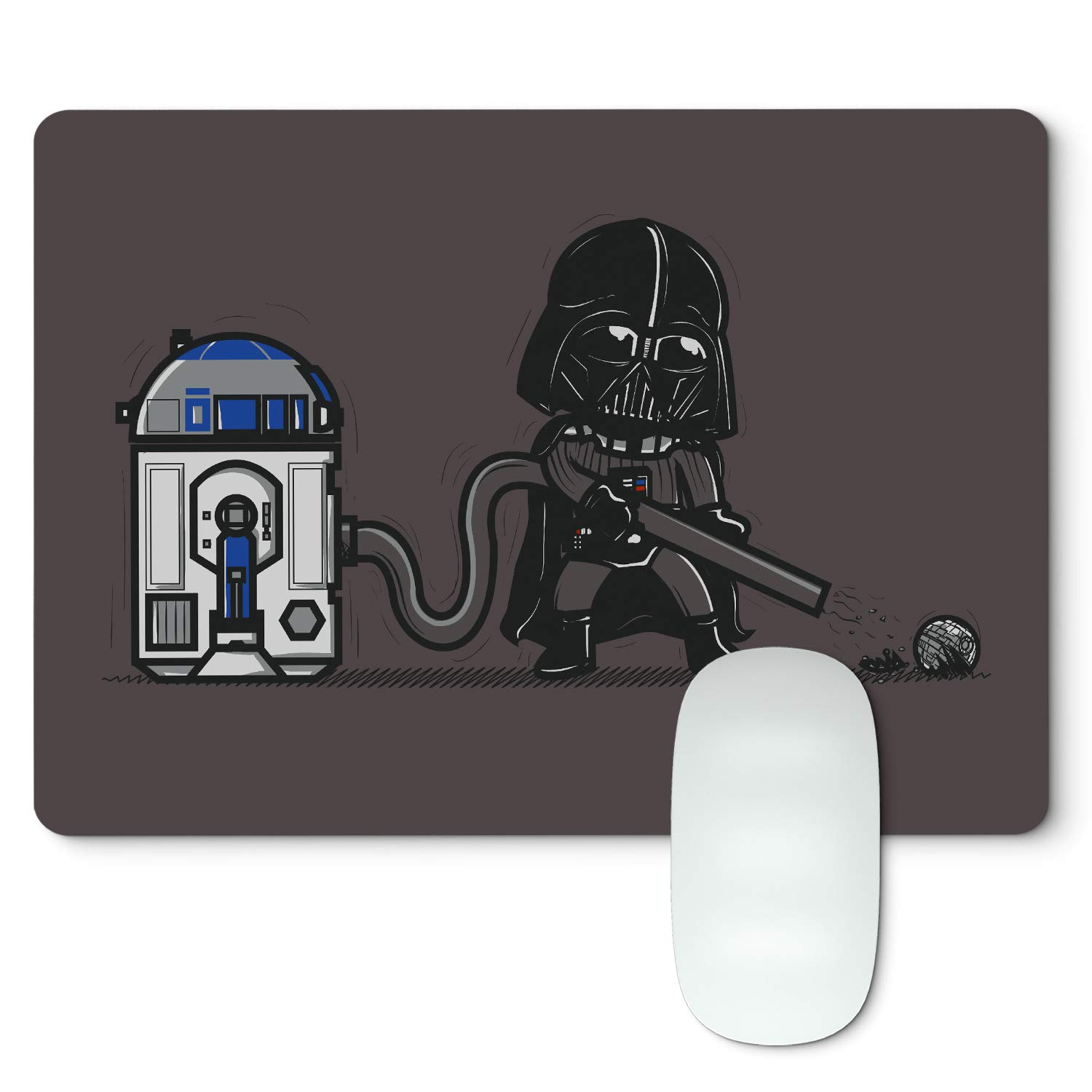 Tappetino per Mouse Star Wars Clone Wars R2D2  Aspirapolvere Be8eight