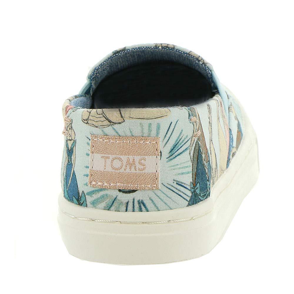 TOMS Girl's, Luca Slip on Shoes Disney Cinderella 1.5 M by TOMS Kids (Image #6)