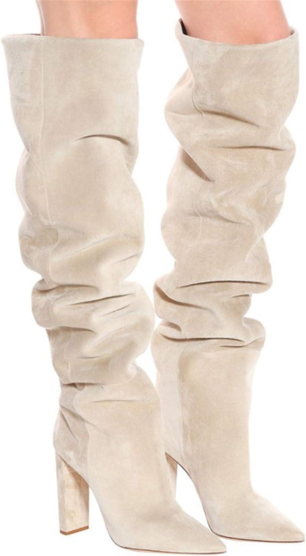 Amazon.com: Women Thigh High Boots